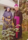 Friedrich Kaiser mit Schwester Willibrordis