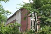 Blick auf das Gymnasium