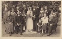 Friedrich Kaiser im Kreis seiner Familie
