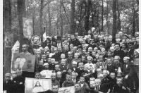 Die Schüler des Gymnasiums Hiltrup im Herbst 1919