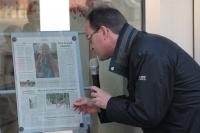Bericht in der Zeitung über das Bilderbuch