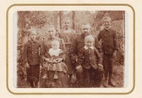 Familie Kaiser um 1911
