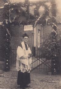 Friedrich Kaiser am Primiztag