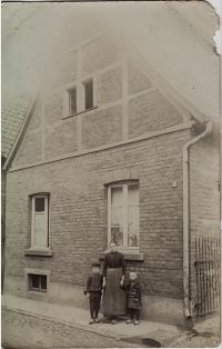 Blick auf das Elternhaus von Friedrich Kaiser